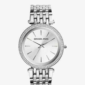 Michael Kors Watch Darci Silver Watch